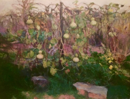 The Bottlegourd Vine (Winner of the Pamela Morrison Award, Phillips Mill 88th Exhibition)