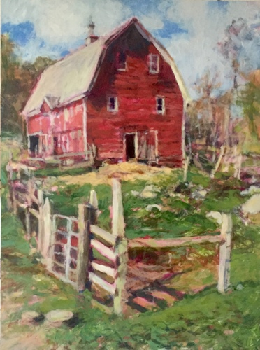 """The Red Barn"" (Nettle Meadows Farm)"