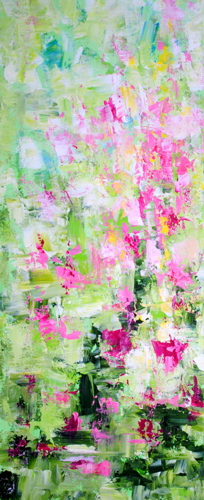 A Feeling for Spring  16x40