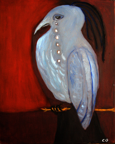 Blue Bird of Melancholy