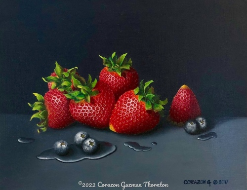 Strawberries and blueberries #2