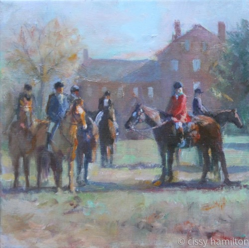 Waiting for the Blessing of the Hounds by cissy hamilton