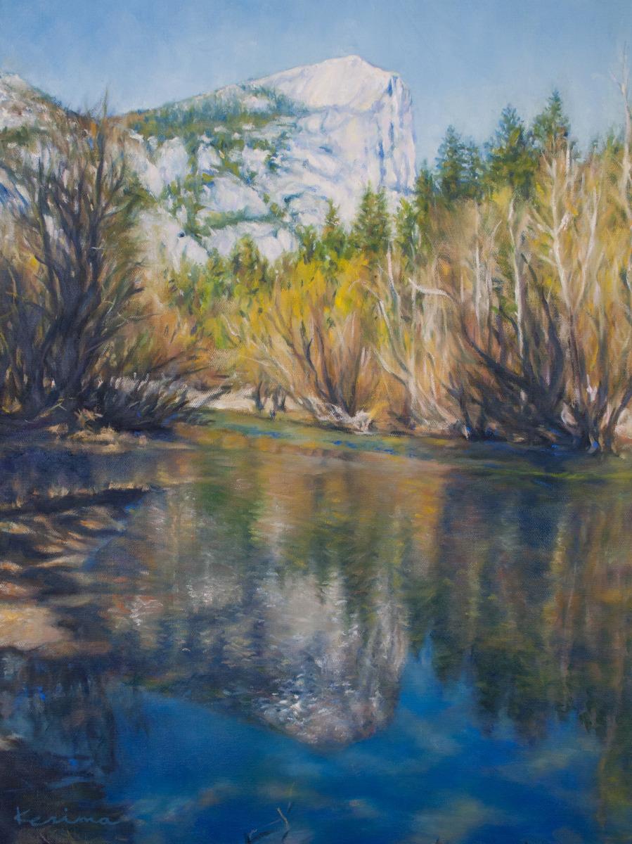 Yosemite Mirror Lake (large view)