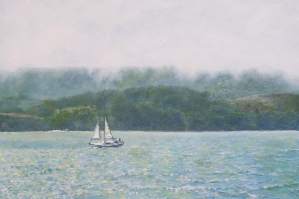 Sailing San Francisco Bay (large view)