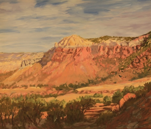 Path Through Ghost Ranch by charlee newman