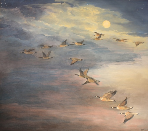 Flying By The Moon