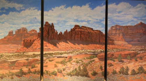Slick Rock Tryptych