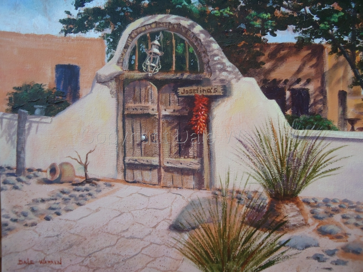 Josefina's Old Gate Cafe - Mesilla, New Mexico (large view)