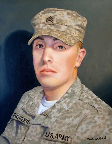 Portrait of Sargent Bryan Roberts
