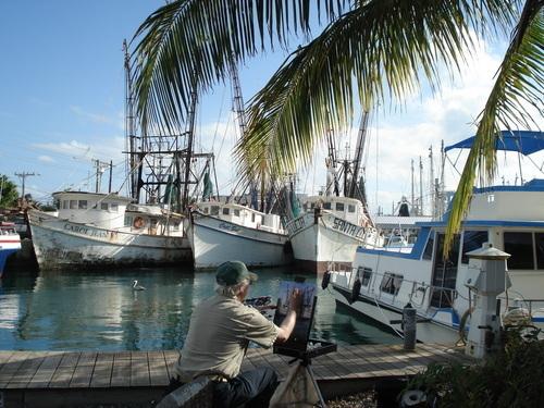 Key West Shrimp Boats