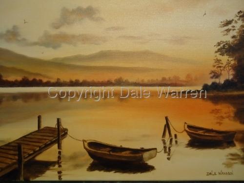 Sunrise with Docks & Boats