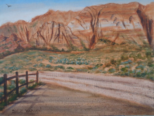 Signature Rock - Snow Canyon - Utah - Painted on Location