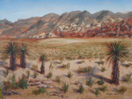 Red Rock Canyon - Nevada -Painted on Location