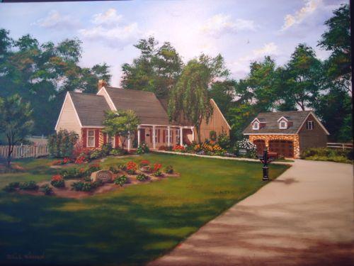Kepnes House Portrait