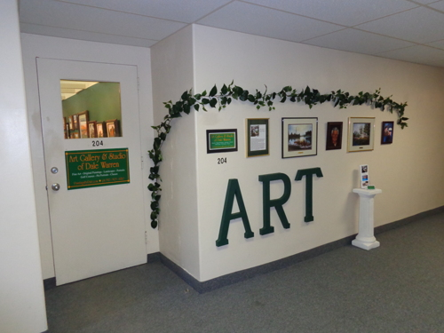 Entrance to gallery