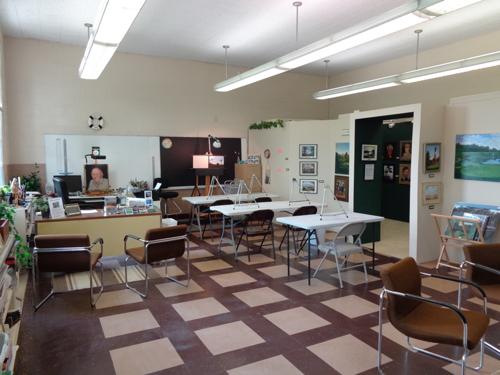 Studio for classes