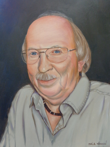 Self Portrait by Charles ' Dale ' Warren - Age 72