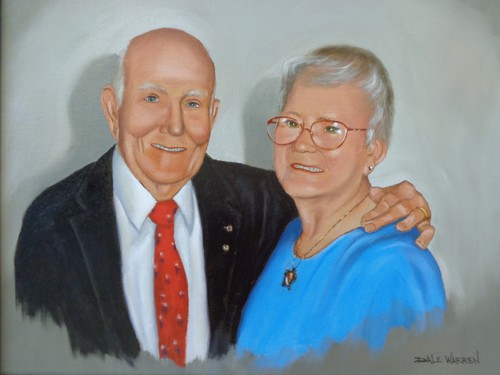 Portrait of Doug & Janie Bohannon.