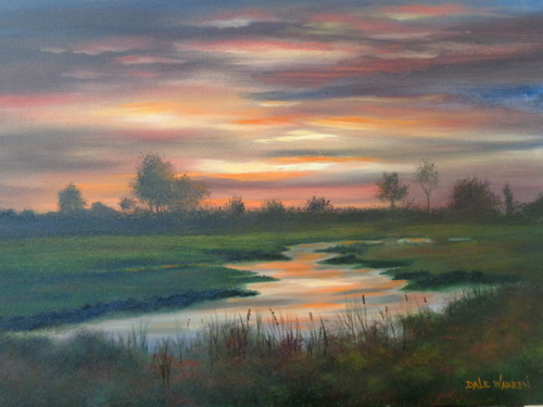 Sunrise Over Creek