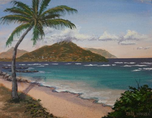 Herbert's Beach, Nevis, West Indies