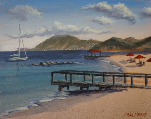 Pinney's Beach - Nevis, West Indies