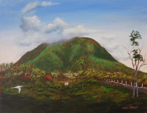 Nevis Peak - Nevis, West Indies