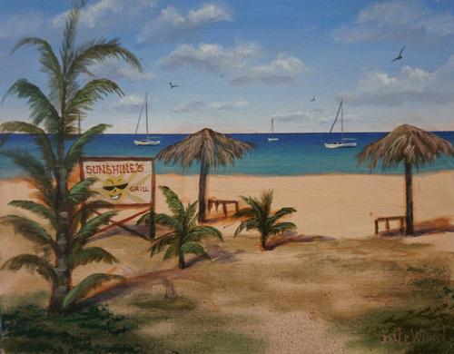 Sunshine's - Pinney's Beach - Nevis, West Indies
