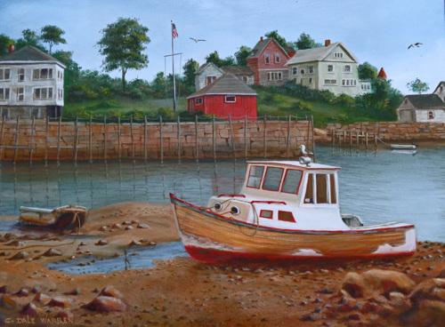 Low Tide - Deer Island, Maine