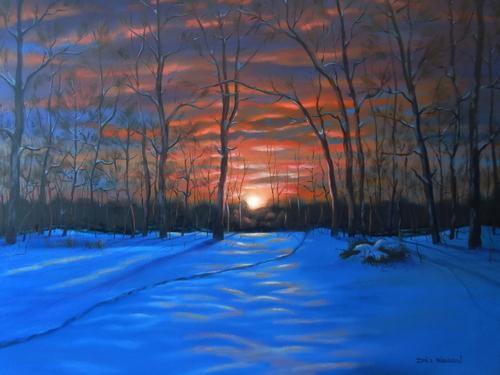 Sunrise at Nimisila - Portage Lakes Ohio