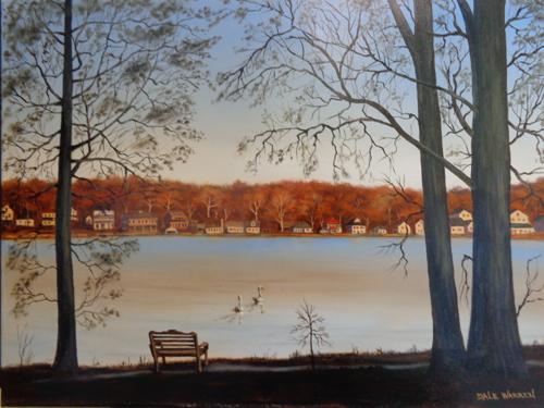 Turkeyfoot Lake - Early Winter Sunset