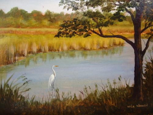 Egret #2 - Sheldons Marsh - Huron Ohio