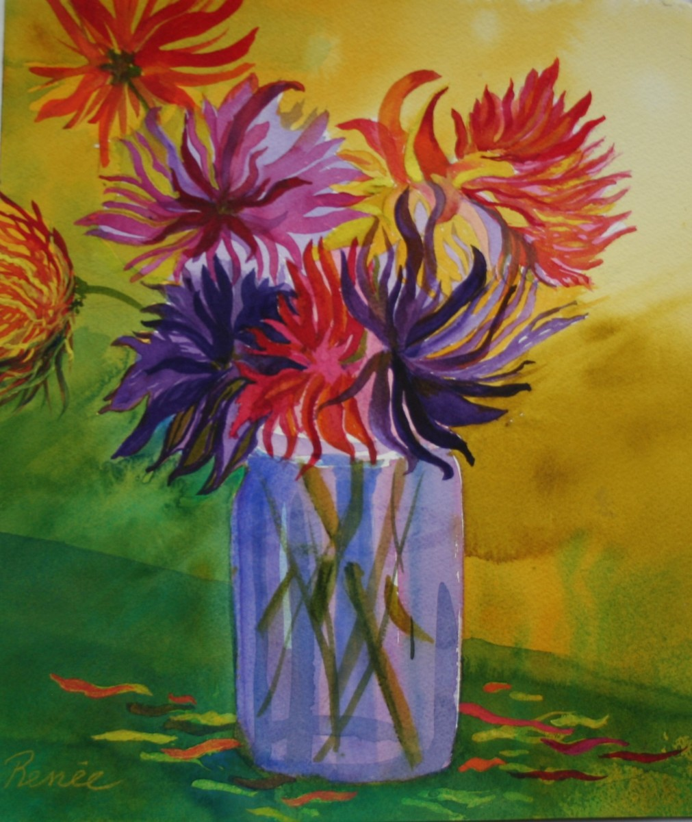 Wendy's Dahlias (large view)