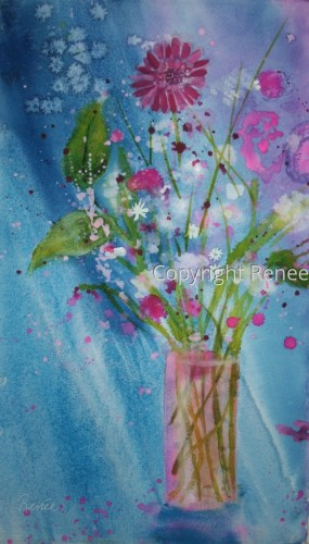 Bon Voyage by Cheryl Renee Long Fine Arts