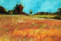 spring landscape by Chet Lowther (thumbnail)