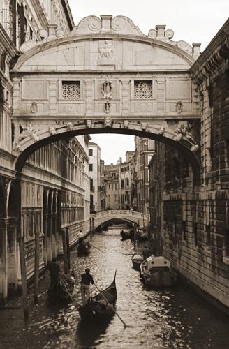 """Bridge of Sighs""-Venice by Chris Clancy"