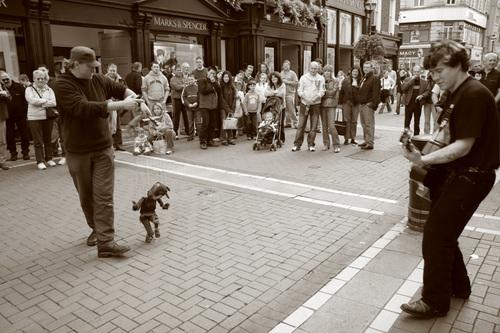 """Dublin Street Performers Series-I"""