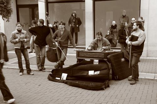 """""""Dublin Street Performers Series-III"""""""