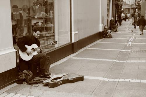 """Dublin Street Performers Series-IV"""
