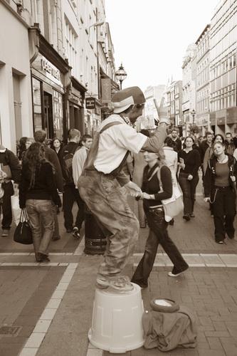 """""""Dublin Street Performers Series-V"""""""