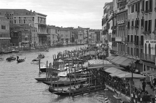 """View from the Grand Canal"""