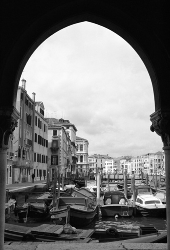 """View from the Venice Fishmarket"""