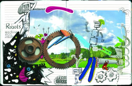 'ECO Machine, Robots Go Green' Journal
