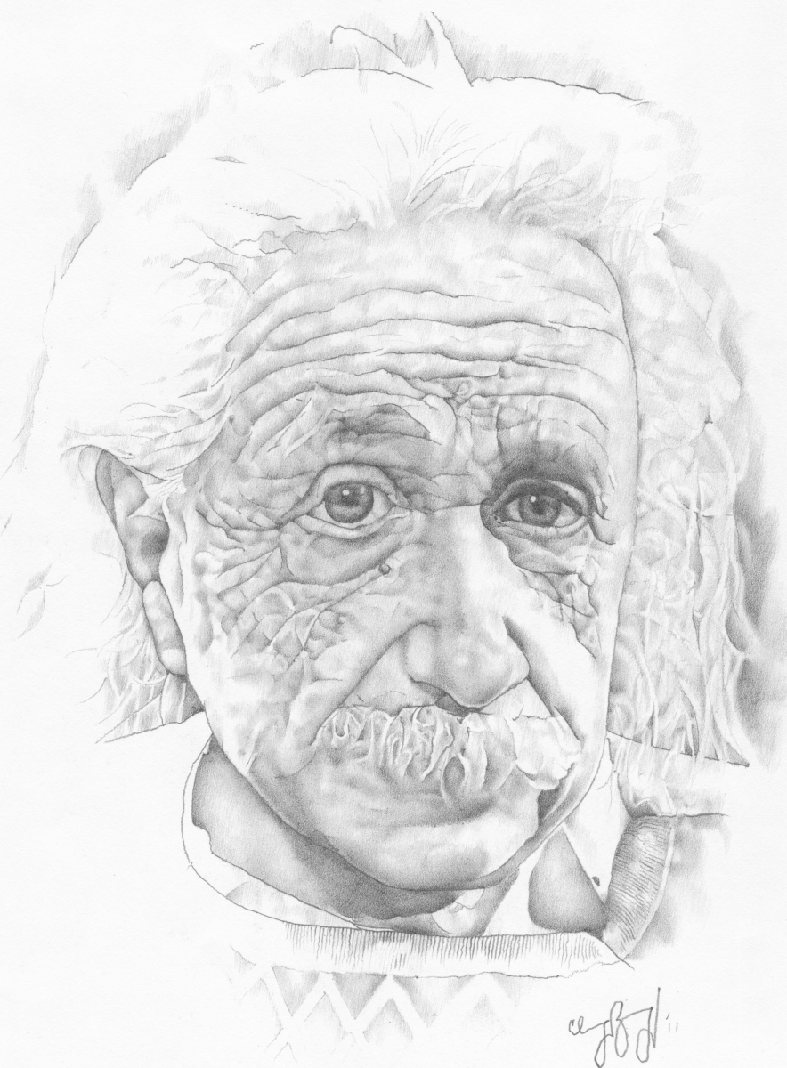 Albert Einstein (large view)