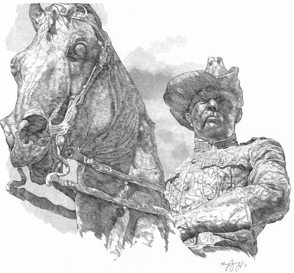 Theodore Roosvelt Statue (large view)