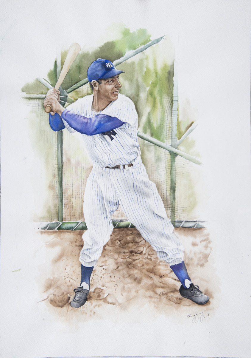 Joe DiMaggio (large view)