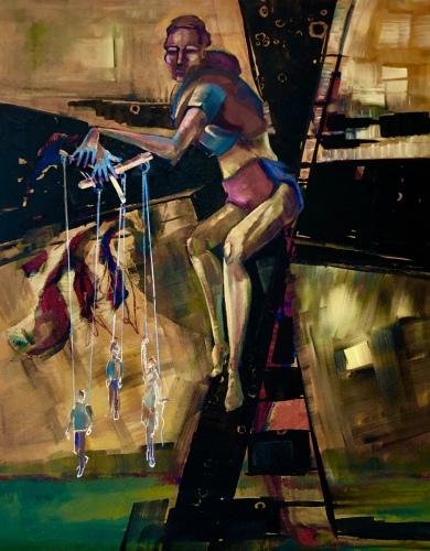 Circus Couple Tango