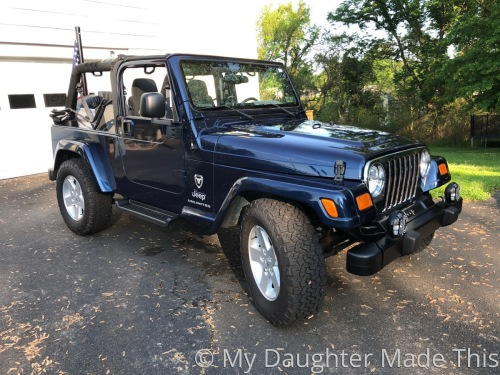2005 Jeep Top Down