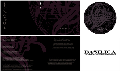 Basilica CD -Theforevervictoriousunfathomablegreatmightyone -altered digipak option