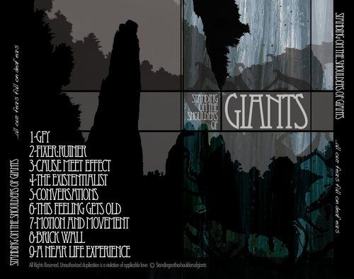 standing on the shoulders of giants cd back cover