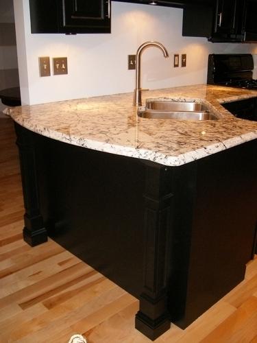 "Kitchen remodel ""penninsula detail"""